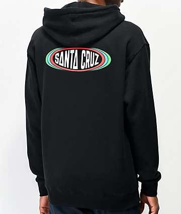 Santa Cruz Region Black Hoodie