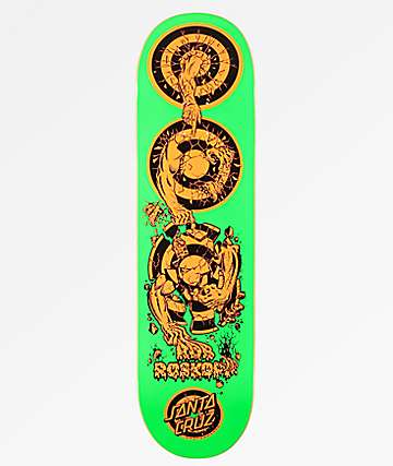 "Santa Cruz Roksopp Evolution 8.37"" Skateboard Deck"