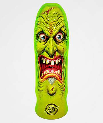 "Santa Cruz Roskopp Edmiston Face 9.5"" Reissue Skateboard Deck"