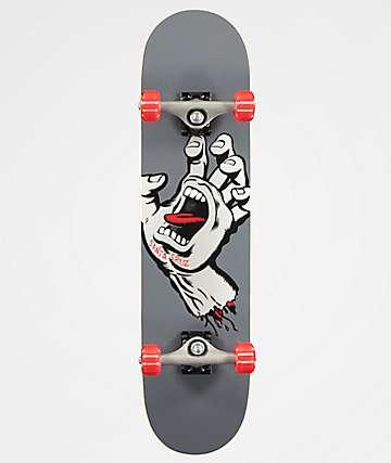 "Santa Cruz Screaming Hand 7.8"" Skateboard Complete"