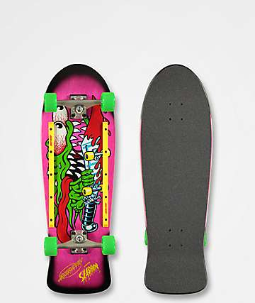 "Santa Cruz Slasher 10.1"" Cruiser Complete Skateboard"