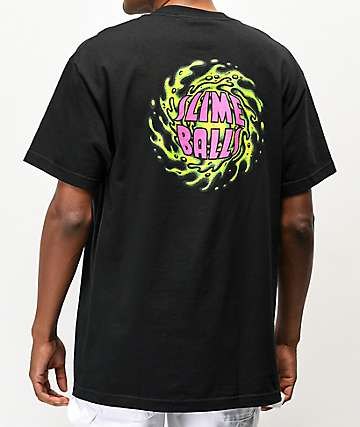 Santa Cruz Slime Balls NBNG Black T-Shirt