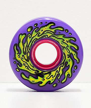 Santa Cruz Slime Balls OG Purps 60mm 78a Purple Cruiser Wheels