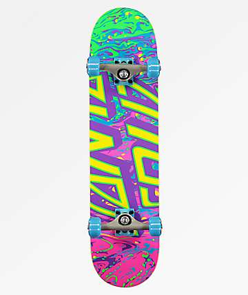 "Santa Cruz Spill Dot 7.8"" Skateboard Complete"