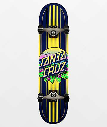 "Santa Cruz Sunset Dot 7.5"" Skateboard Complete"