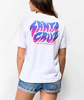 Santa Cruz Surge White T-Shirt