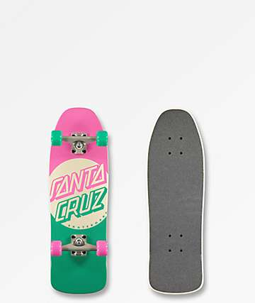 "Santa Cruz Switch Dot 8.4"" Cruiser Skateboard Complete"