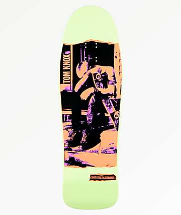 "Santa Cruz Tom Knox Discord 9.98"" Skateboard Deck"