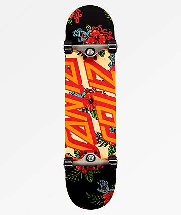 "Santa Cruz Vacation Dot 7.75"" Skateboard Complete"