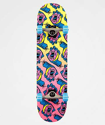 "Santa Cruz x Odd Future Donut Hand 8.0"" completo de skate"