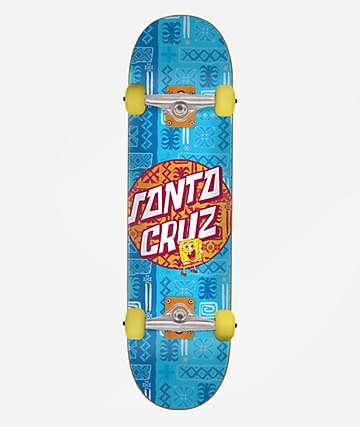 """Santa Cruz x SpongeBob SquarePants 8.0"""" completo de skate"""