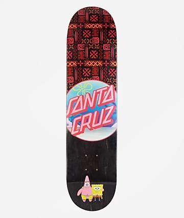 "Santa Cruz x SpongeBob SquarePants Best Buds 7.75"" tabla de skate"
