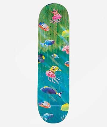 "Santa Cruz x SpongeBob SquarePants Bikini Bottom 8.25"" Skateboard Deck"