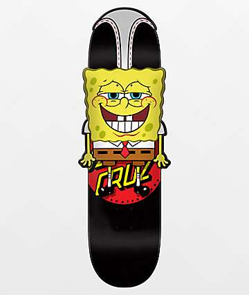 "Santa Cruz x SpongeBob SquarePants Hangin Out 10.31"" Skateboard Deck"
