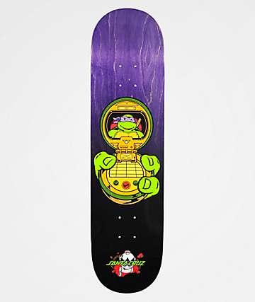 "Santa Cruz x TMNT Donatello 8.125"" Skateboard Deck"