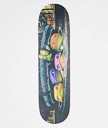 "Santa Cruz x TMNT Poster Everslick 8.25"" Skateboard Deck"