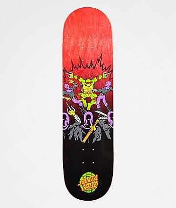 "Santa Cruz x TMNT Raphael 8.25"" Skateboard Deck"