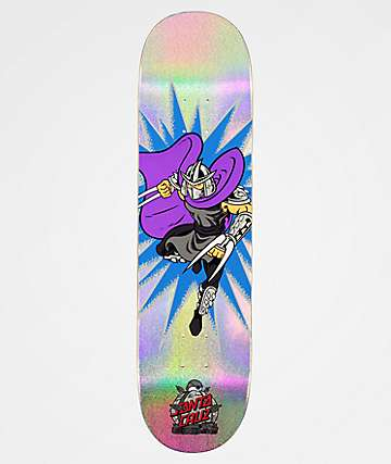 "Santa Cruz x TMNT Shredder 8.0"" Skateboard Deck"