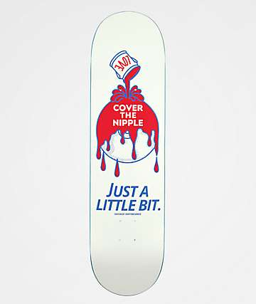 "Sausage Cover Up 8.25"" Skateboard Deck"