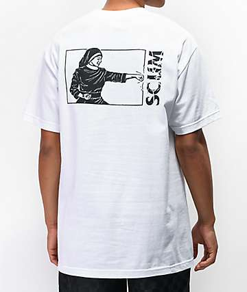 Scum Nun Fu White T-Shirt
