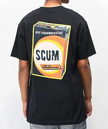 Scum The Dirty Scum Black T-Shirt