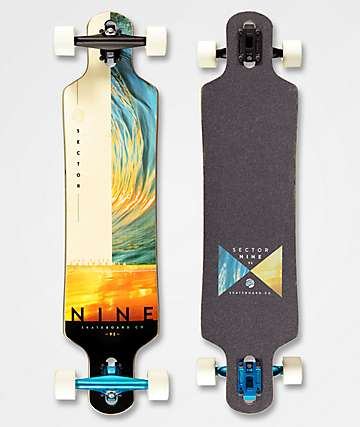 "Sector 9 Bintang Balance 38"" Drop Through Longboard Complete"