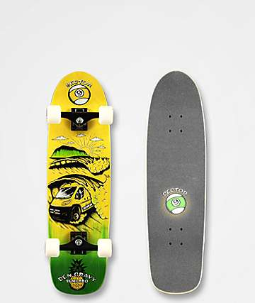 "Sector 9 Dream Gravy 31.5"" Cruiser Skateboard Complete"