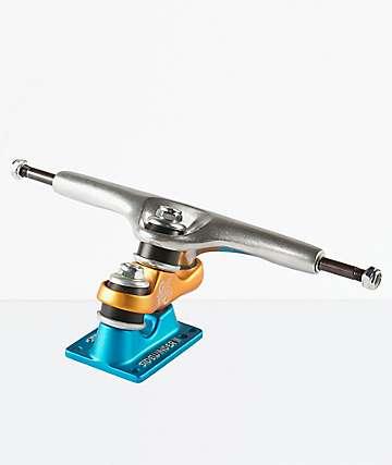 "Sector 9 Gullwing Sidewinder 2 10"" Blue & Orange Skateboard Truck"