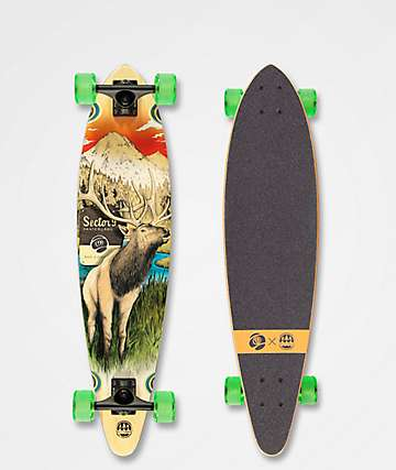 "Sector 9 x Salty Timbers Stag Swift 34.5"" Longboard Complete"