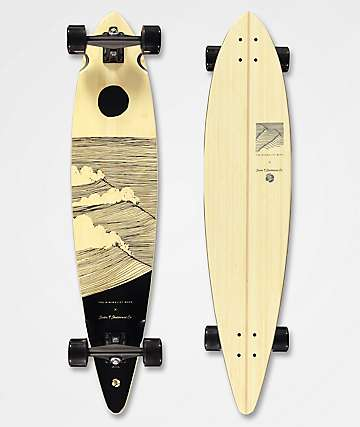 "Sector 9 x The Minimalist Wave Beach Break Bonsai 42"" Longboard Complete"