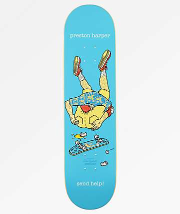 "Send Help Preston Harper Asshead 8.0"" Skateboard Deck"