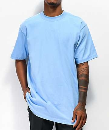 Shaka Wear Max Heavy Weight camiseta azul celeste