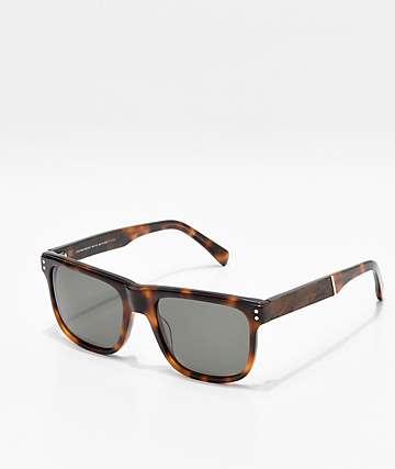 Shwood Monroe Brindle Elm Burl Sunglasses
