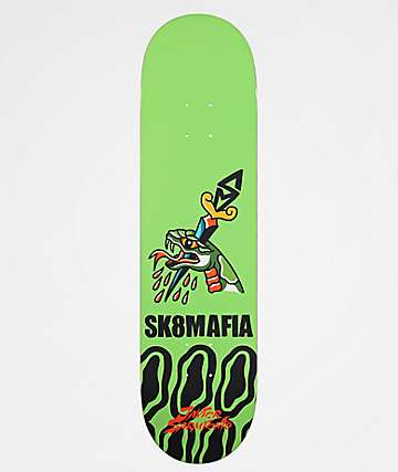 "Sk8Mafia Javier Animal Style 8.1"" Skateboard Deck"