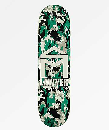 "Sk8Mafia Lawyer Camo 8.25"" Skateboard Deck"