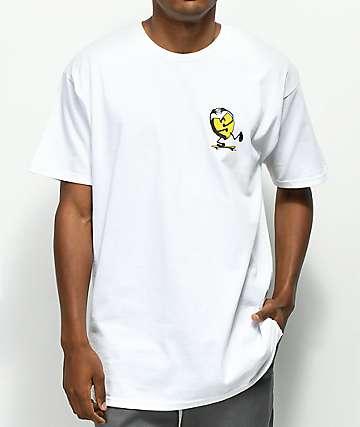 Sk8Mafia Rising Sun White T-Shirt