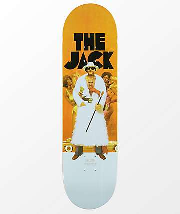 "Skate Mental The Jack Curtain 8.375"" Skateboard Deck"