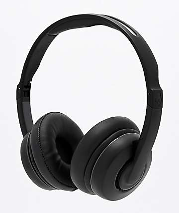 Skullcandy Cassette Black Wireless Headphones