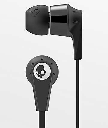 Skullcandy Ink'd 2.0 Mic'd  Black Earbuds
