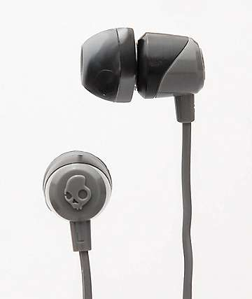 Skullcandy Jib Swirl auriculares en gris y negro