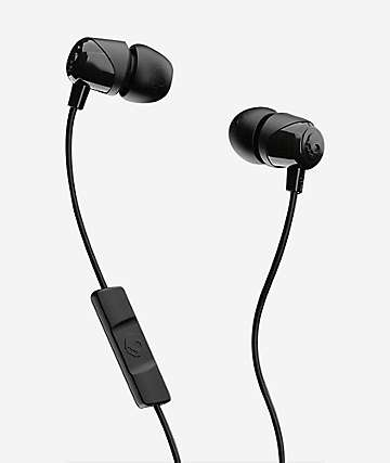 Skullcandy Jib Wired Black Earbuds