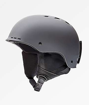 Smith Holt Matte Charcoal Snowboard Helmet