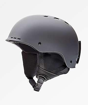 Smith Holt casco de snowboard gris mate