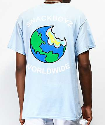 Snackboyz Jaw Breaker Blue T-Shirt