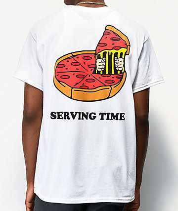 Snackboyz Serving Time White T-Shirt