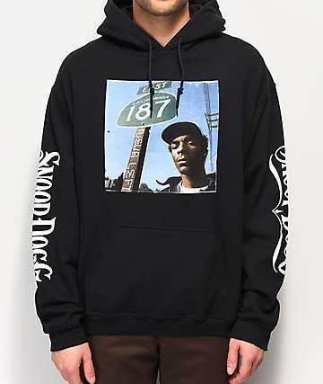Snoop Dogg 187 Black Hoodie