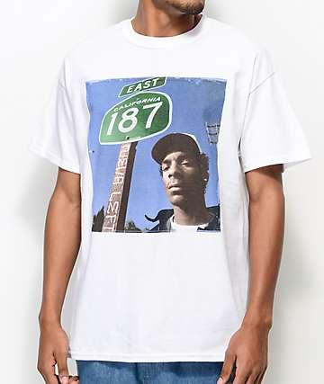 Snoop Dogg 187 White T-Shirt