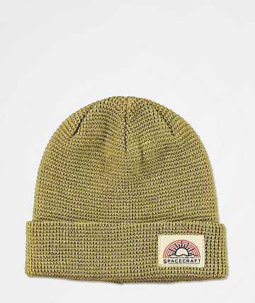 Spacecraft Index Light Brown Beanie