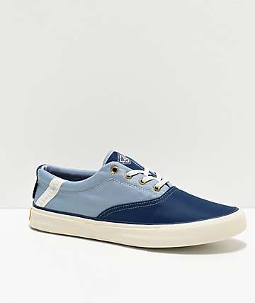 Sperry Striper II BIONIC Navy & Light Blue Shoes