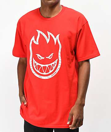Spitfire Bighead Swirl camiseta roja